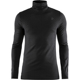 Craft Fuseknit Comfort Turtle Neck Shirt Men black